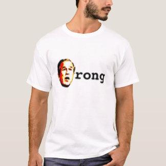 falscher Busch T-Shirt