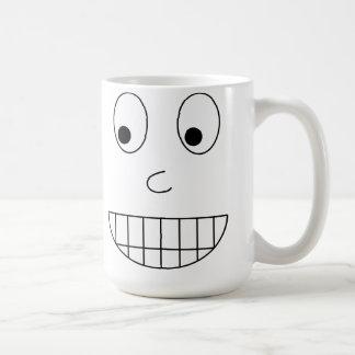 Falsches Lächeln Kaffeetasse