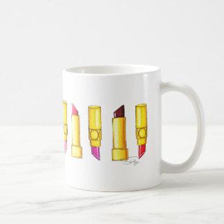 Fältchen oben kaffeetasse