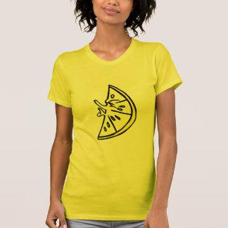 Fältchen-Zitrone T-Shirt