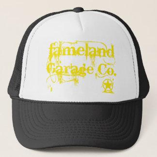 Fameland Garage Company - gelbe Ausgabe Truckerkappe