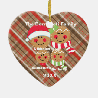 Familie 4 der keramik ornament