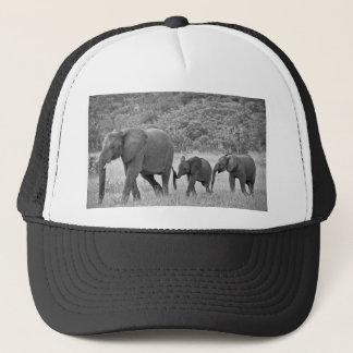 Familie der südafrikanischen Elefanten Truckerkappe