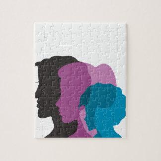 Familie Puzzle