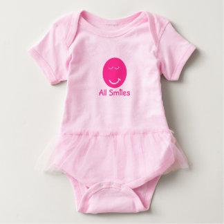 Familien-alle Frucht lächelt Baby Baby Strampler