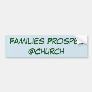 Familien erweitern sich @Church Aufkleber Autoaufkleber