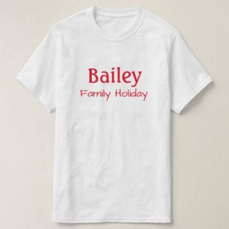 Familien-Feiertags-Shirt T-Shirt