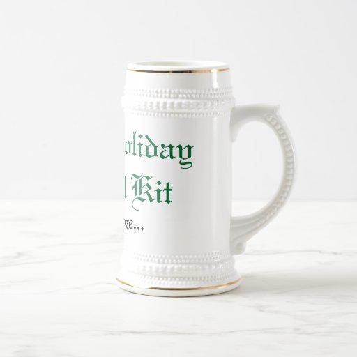 Familien-Feiertags-Überlebensausrüstung Kaffee Tasse