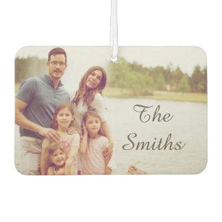 Familien-Foto Autolufterfrischer
