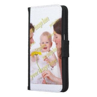Familien-Foto-einfache Budget-Schablone Samsung Galaxy S6 Geldbeutel Hülle