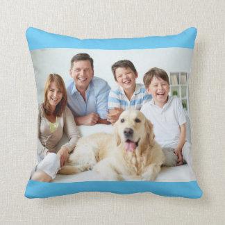 Familien-Foto-Kissen Kissen