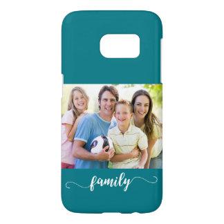 Familien-Foto-Schablonen-Entwurf