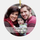 Familien-Foto-Verzierungen Ornamente