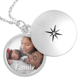 Familien-FotoLocket für Mamma Medaillon