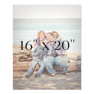 Familien-Fotos 16x20 SCHABLONE Fotodruck