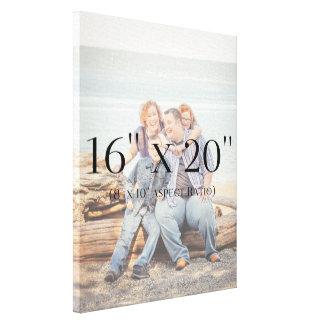 Familien-Fotos 16x20 SCHABLONE Leinwanddruck