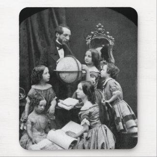 Familien-Geografie-Lektion ~ 1850 Mauspad