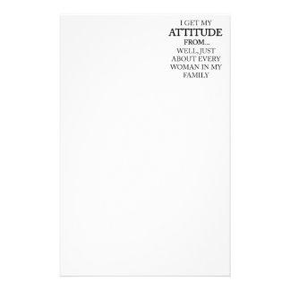 Familien-Haltung Briefpapier
