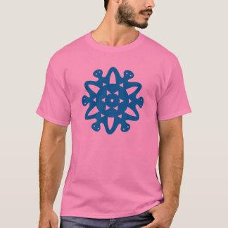 Familien-Kreis-Sonnenschein-Stern-Aktion gehen T-Shirt