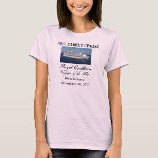 Familien-Kreuzfahrt-Shirt T-Shirt