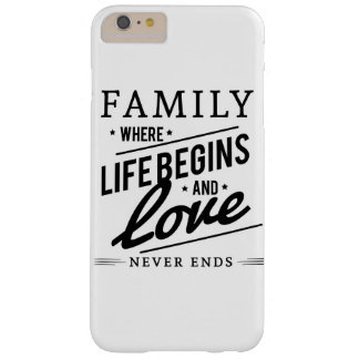 Familien-Liebe Barely There iPhone 6 Plus Hülle