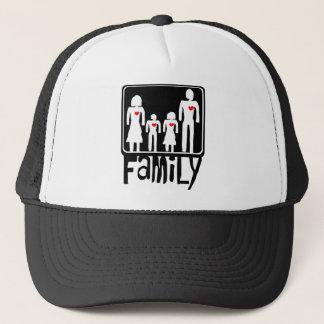 Familien-Liebe Truckerkappe
