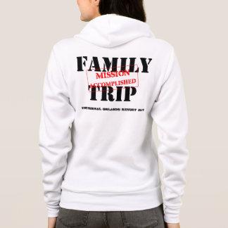 Familien-Reise-Auftrag vollendet Hoodie