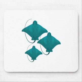Familien-Schwimmen Mousepad