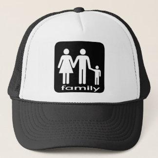 Familien-T-Shirt Truckerkappe