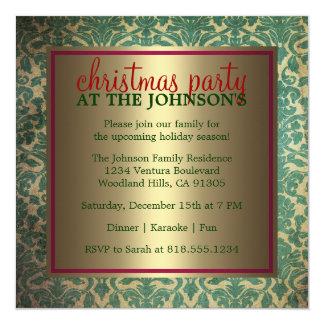 Familien-WeihnachtsParty Einladung