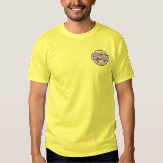 Familien-Wiedersehen-Logo Besticktes T-Shirt