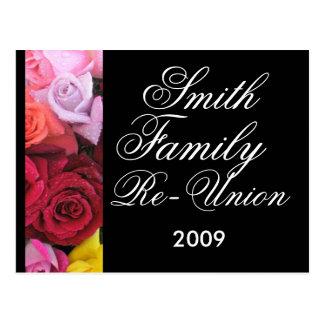 Familien-Wiedersehen Postkarte