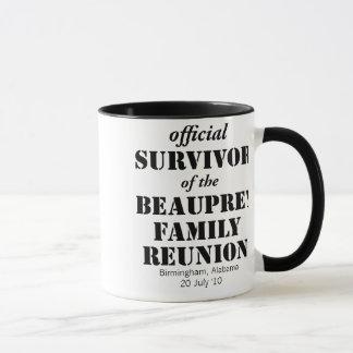 Familien-Wiedersehen-Überlebend-Tasse - überall Tasse