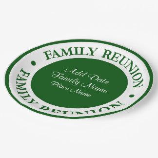 Familien-Wiedersehen-WegwerfTeller Pappteller