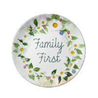 Familien-zuerst inspirierend Zitat