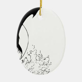 Familienfreundnachbarbüro-Zuhause-Geschenkgeschenk Keramik Ornament