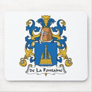 Familienwappen de la Fontaine Mauspads