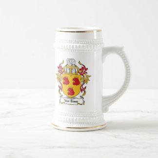 Familienwappen Vans Bosse Kaffee Haferl
