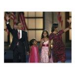 Familienwelle Barak Obama am gestern Abend von Postkarte