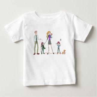 Family Design Baby T-shirt