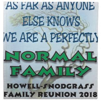 FAMILYREUNION7 SERVIETTE