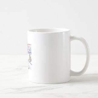 Fan der Spiele des Krickets Kaffeetasse
