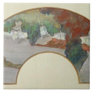 Fan Edgar Degass |, c.1879 Fliese
