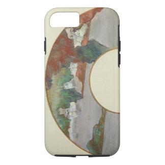 Fan Edgar Degass  , c.1879 iPhone 8/7 Hülle