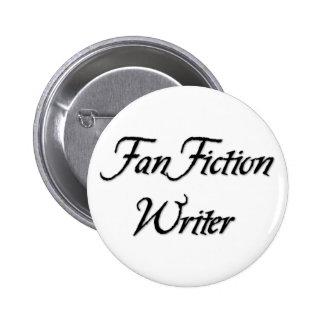 Fan-Fiktions-Verfasser Runder Button 5,7 Cm