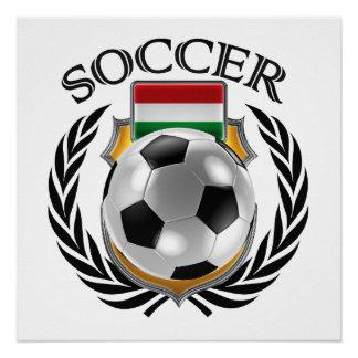 Fan-Gang Ungarn-Fußball-2016 Poster