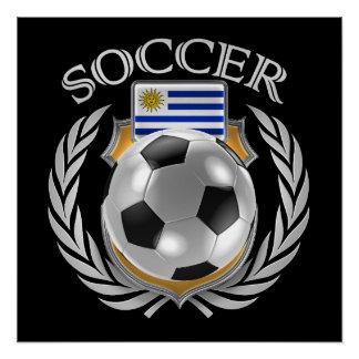 Fan-Gang Uruguay-Fußball-2016 Poster