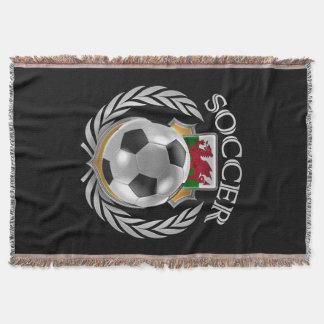 Fan-Gang Wales-Fußball-2016 Decke