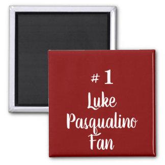 Fan Nr.1 Luke Pasqualino Quadratischer Magnet