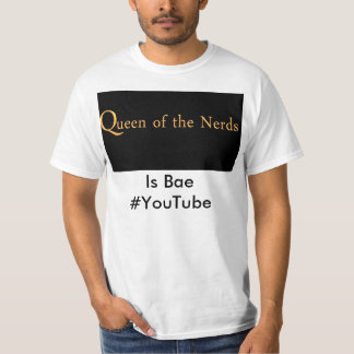 Fan-Shirt für Königin der Nerd-Enthusiasten T-shirt